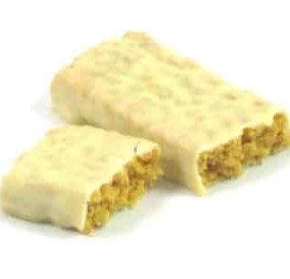 high protein lemon pie bar